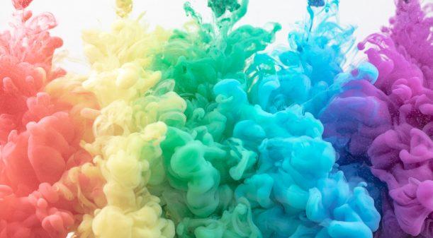 Rainbow image 5 colours